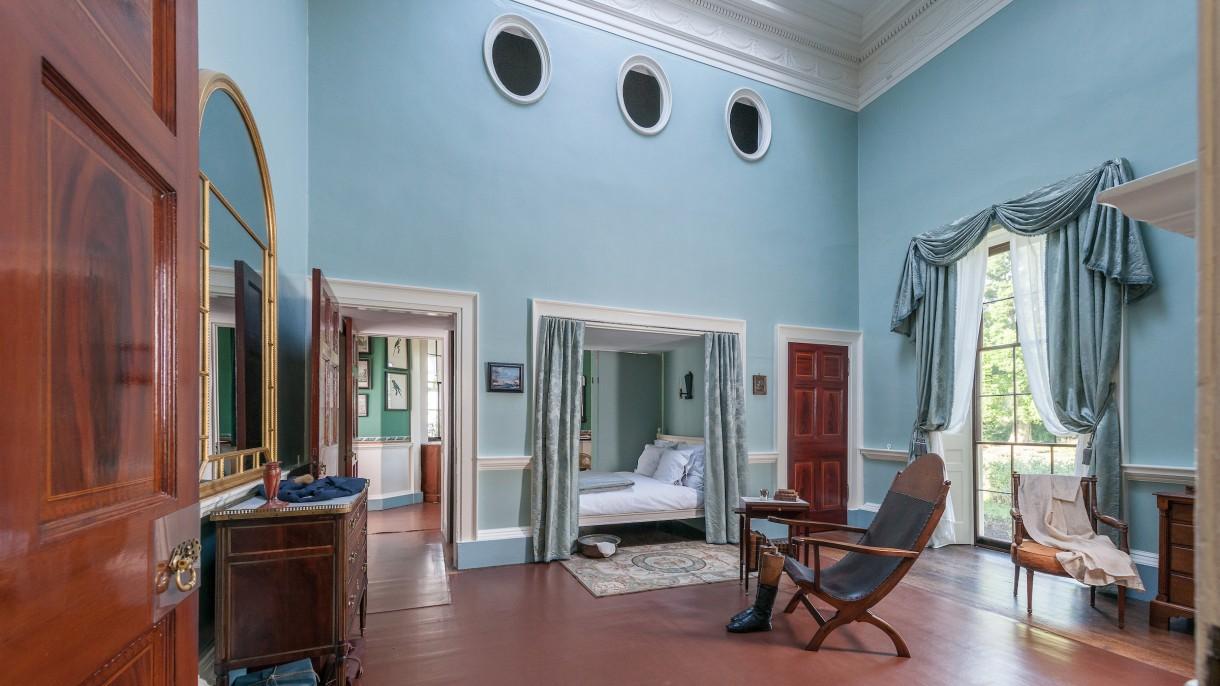 Wondrous Jeffersons Bed Chamber At Monticello Thomas Jeffersons Download Free Architecture Designs Parabritishbridgeorg