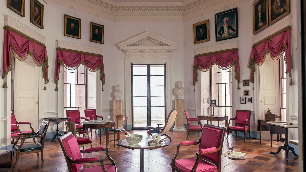 Parlor Room at Monticello | Thomas Jefferson's Monticello