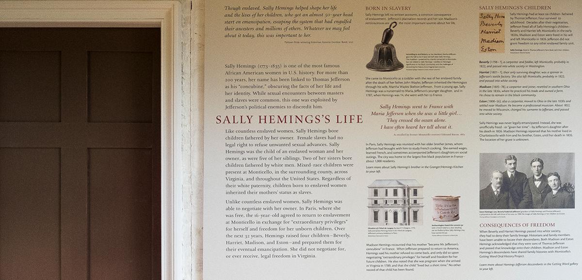The Life of Sally Hemings
